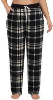 Cuddl Duds Plus Size Pajamas: Drawstring Microfleece Pants