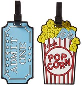 Betsey Johnson Popcorn Luggage Tag Handbags