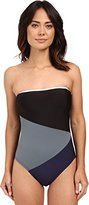 Nautica Women's Block and Tackle Soft Cup One Piece Swimsuit