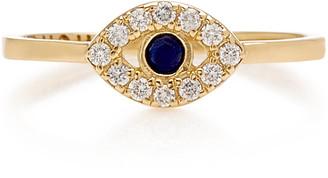 Noush Jewelry 14K Gold And Diamond Ring