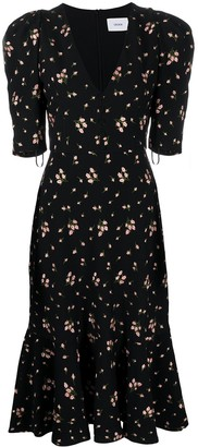 Erdem Ottavia floral-print midi dress