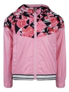 Nike Little Girls Sportswear Printed Windrunner Jacket