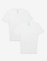 Tommy John Second Skin High V-Neck Undershirt (Set of 2)