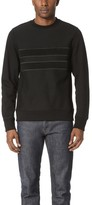 Paul Smith Cotton Crew Neck Sweatshirt with Tonal Embroidery