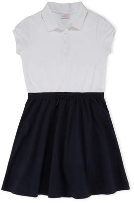 Izod Exclusive Exclusive Cap-Sleeve Polo Dress - Girls 4-16 and Plus