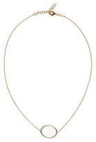 As 29 AS29 Single Diamond Circle Choker