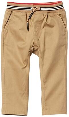 BURBERRY KIDS Dilan Mini (Infant/Toddler) (Yellow) Boy's Casual Pants