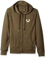 True Religion Men's Metallic Buddha Hoodie2
