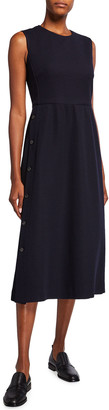 Max Mara Lindsey Sleeveless Midi Jersey Dress