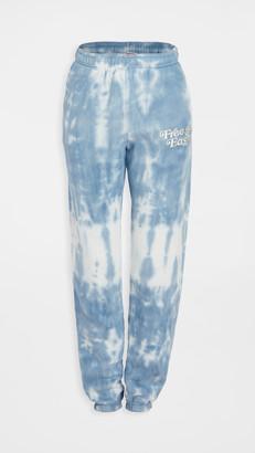 Free & Easy Tie Dye Heavy Fleece Sweatpants