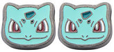 Pokemon Enamel Bulbasaur Head Stainless Steel Stud Earrings