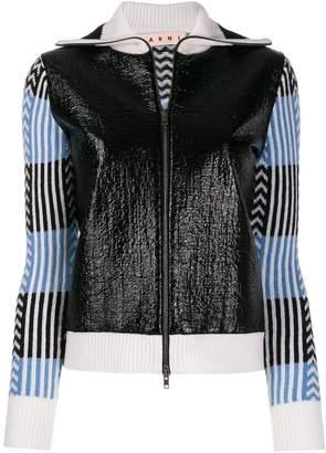 Marni graphic print bomber jacket