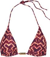 Vix Kara printed triangle bikini top