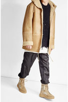 Yeezy Suede Jacket with Shearling