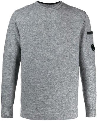 C.P. Company colour block jumper