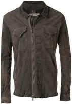 Giorgio Brato creased asymmetric jacket