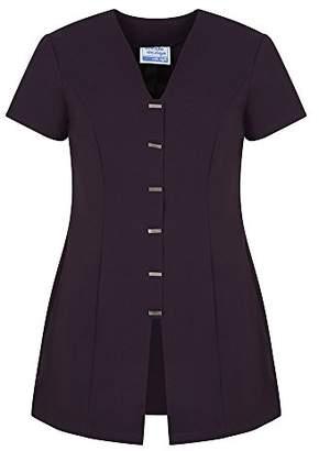 Workwear World WW3 Jurisa Front Button Fastening Beauty Salon Nail Spa Therapist Work Wear Tunic (, )