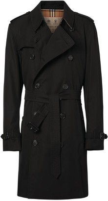 Burberry Mid-Length Kensington Heritage Trench Coat