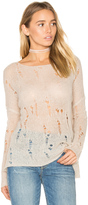 360 Sweater Nohemi Distressed Sweater