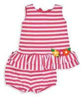 Florence Eiseman Baby's Two-Piece Stripe Dress & Bloomers Set