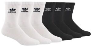adidas Men's 6-Pk. Crew Socks