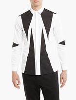 Neil Barrett White Cotton Modernist Shirt