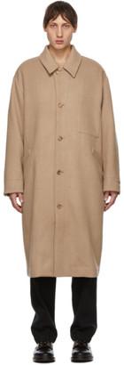 Tanaka Reversible Beige Classy Double Face Coat