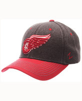Zephyr Detroit Red Wings Anchorage Snapback Cap