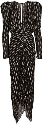 Ronny Kobo Astrid Fil Coupe Chiffon Dress