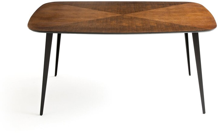 Thumbnail for your product : La Redoute Interieurs Watford Vintage-Style Inlaid Dining Table, Seats 6