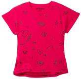 True Religion Doodle Dolman Tee (Toddler & Little Girls)