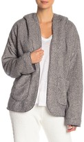 PJ Salvage Cozy Two-Tone Hooded Jacket