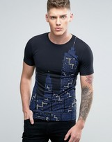 Calvin Klein Jeans Text Print T-Shirt