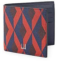 Dunhill Men's Cadogan Engine Turn 8CC Billfold