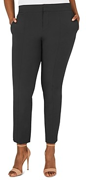 Foxcroft Plus Vegas Slim-Leg Stretch Pants