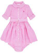 Polo Ralph Lauren Striped Short Sleeve Dress