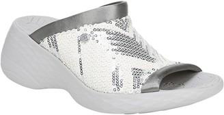 BZees Wedge-Heel Slide Sandals - Jubilee