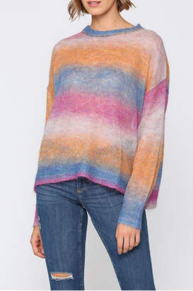 Fate Multi colored, light weight sweater