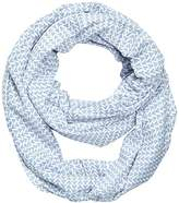 Tom Tailor Women's Loop Shawl with minimal print / 512 - Off-white -