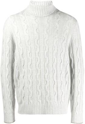Brunello Cucinelli cable-knit jumper