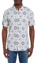 O'Neill Men's Abro-Geo Print Woven Shirt