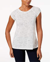 Calvin Klein Cap-Sleeve Strappy-Back T-Shirt