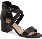 Via Spiga 'Jobina' Crisscross Strap Block Heel Sandal (Women)