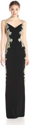 Jovani Jvn By JVN by Women's Black Jersey Gown 12