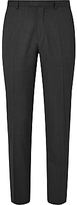 John Lewis Washable Tailored Suit Trousers, Charcoal