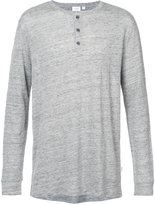 Onia Miles Henley long sleeve shirt