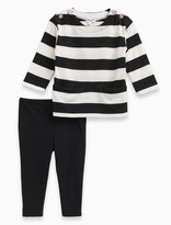 Splendid Baby Girl Stripe Loose Knit Set