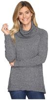 Lilla P Cowl Neck Tunic - Cotton/Cashmere