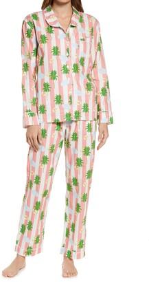 Sant and Abel x Gray Malin Women's Coral Beach Print Pajamas