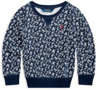 Ralph Lauren Kids Floral Print Sweatshirt (7-14 Years)